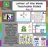 Teaching Letters Aa-Ii
