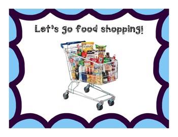 Life Skills: Grocery Shopping (Thanksgiving Theme) Community Based Instruction