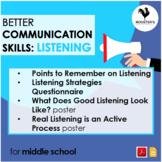 Teaching Listening Skills {Digital & PDF}