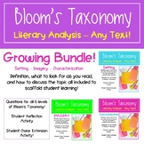 Teaching Literary Analysis with Bloom's Taxonomy - Growing