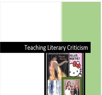 Teaching Literary Criticism