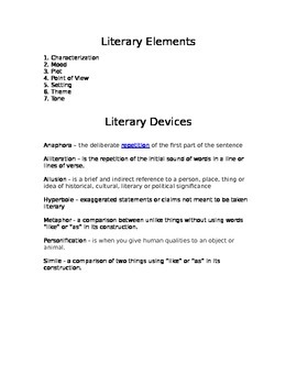 Teaching Literary Devices with 5 Fun & Interactive Lessons! (Regents Prep)