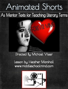 """Teaching Literary Elements with Animated Short Films-""""Forever Mime"""""""