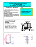 Teaching Long Division Meaningfully—CCSS 5.NBT.B.6