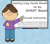 Teaching Long Vowels Bundle for the SMART Board:   Focused Instruction