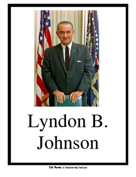 Teaching Lyndon B. Johnson Mega Pack