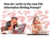 Teaching Middle Schoolers How to Write to the Text-Based Informative Prompt