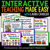 Interactive Teaching Made Easy PD Webinars Bundle
