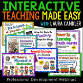 Interactive Teaching Made Easy PD Webinars Bundle
