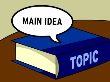 Teaching Main Idea - Smart Board Lesson!