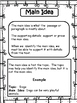 Teaching Main Idea and Details: Teacher's Guide and Practice Printables