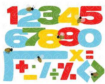 Teaching Math Clipart by Poppydreamz