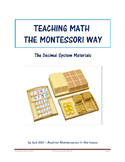 Teaching Math the Montessori Way - The Decimal System Materials