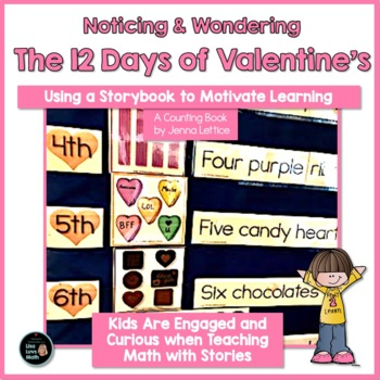 Math and Literacy Packet The 12 Days of Valentines