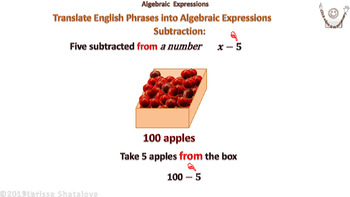 Teaching Math with Technology. Algebraic Expressions (Lucid M-d )