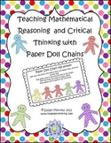 Teaching Logic and Critical Thinking with Paper Doll Chains