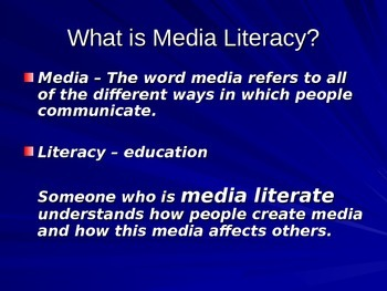 Teaching Media Literacy and Propaganda