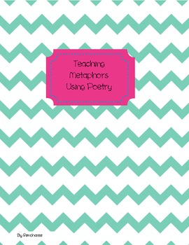 Teaching Metaphors Through the Use of Poetry {Common Core Aligned}