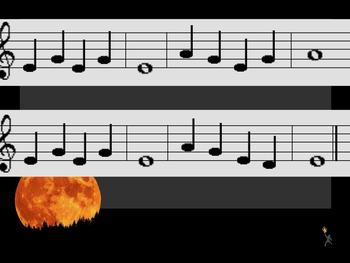 Teaching Minor Keys Through Recorder:  Halloween Song
