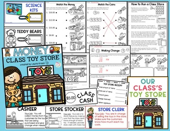 Teaching Money Activities and Toy Store
