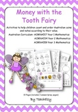 Money with the Tooth Fairy - Australian Currency