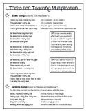 Teaching Multiplication - TRICKS for 6s, 7s, 8s, & 9s!