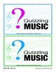 Teaching Music — Blank Game Cards and Flash Cards
