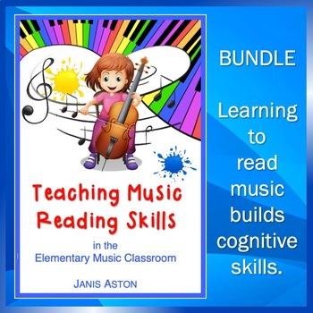 Teaching Music Reading Skills Bundle