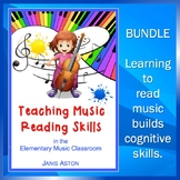 Teaching Music Reading Skills Bundle