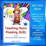 Teaching Music Reading Skills, K-4, method book