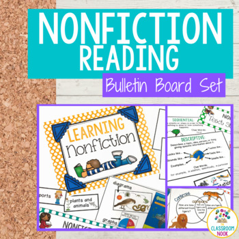 Teaching Nonfiction Reading: Bulletin Board Set