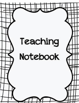 Teaching Notebook Dividers