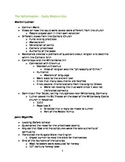 Teaching Notes- The Reformation
