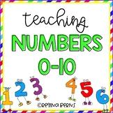 Teaching Numbers 0-10