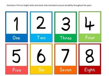 Teaching Numbers in Preschool and Kindergarten