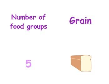 Teaching Nutrition in P.E.: Kindergarten & First Grade Vocabulary Matching Cards
