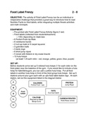 Teaching Nutrition in Physical Education: Food Label Frenzy