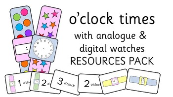 Teaching O'clock Times with Analogue and Digital Watches