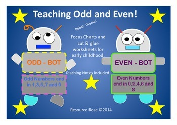 Teaching Odd and Even Numbers