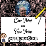 Teaching One-Point & Two-Point Perspective