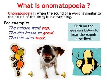 Teaching Onomatopoeia