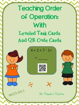 Teaching Order of Operation