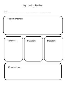Teaching Organization 6 trait writing