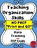 Teaching Organization Skills in the classroom-SPED #Autism