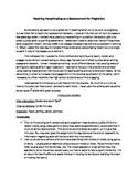 Teaching Paraphrasing to Replace Plagiarizing