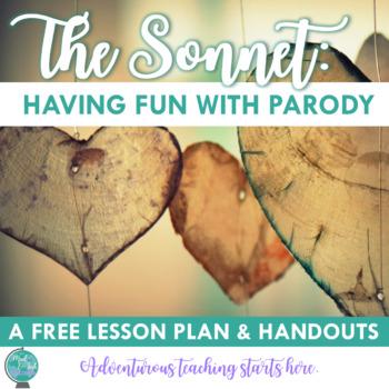 Teaching Parody:  A Poetry Parody Lesson Using Sonnet 18 {Grades 7-12}