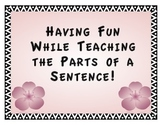 Teaching Parts of a Sentence
