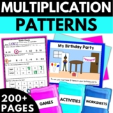 Addition Subtraction Multiplication Division Patterns