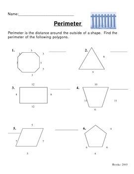 Teaching Perimeter