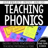 Teaching Phonics: Common Vowel  Teams EE and EA